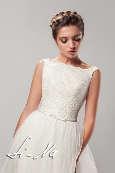 Пышное свадебное платье ададжио