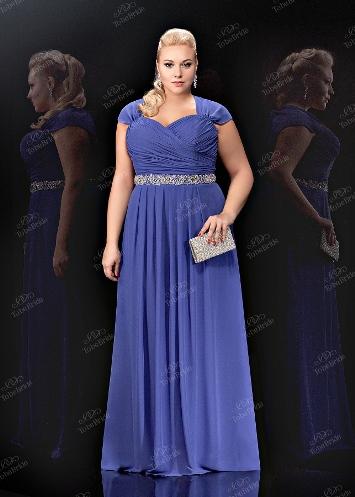Платья вечерние большого размера