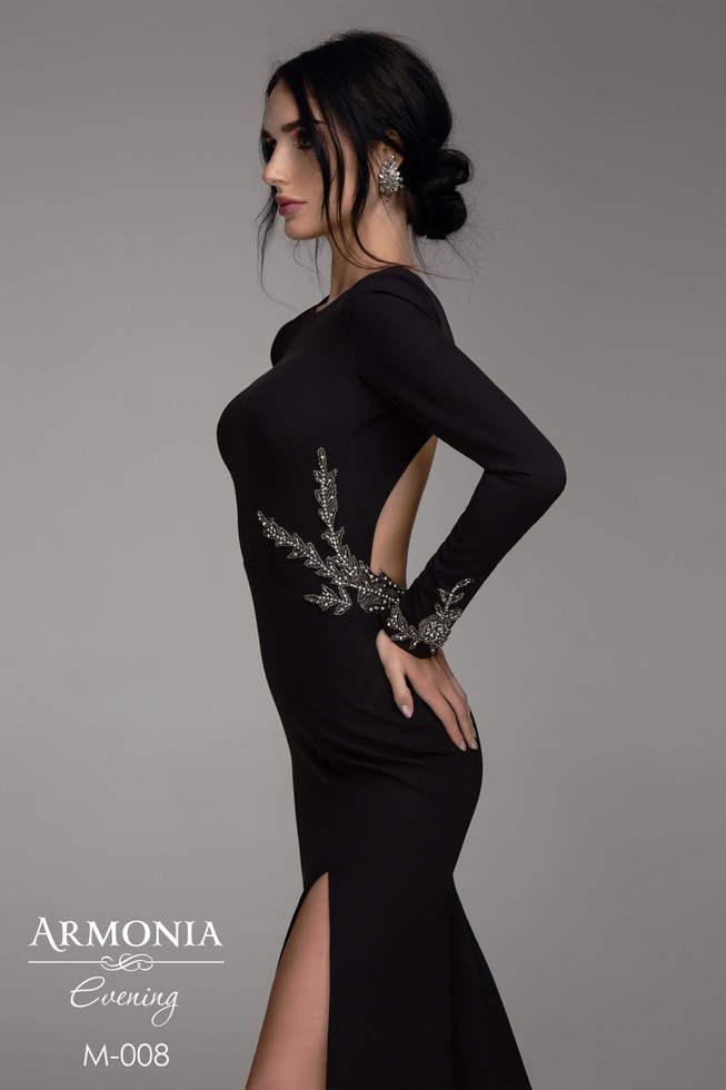 Длинное вечернее платье minimal 008 (чайная роза)