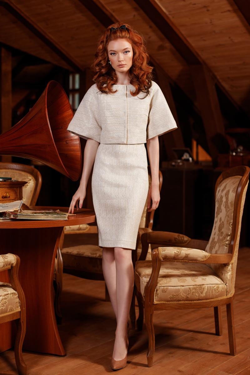 Коктейльное короткое вечернее платье 0224 еmse