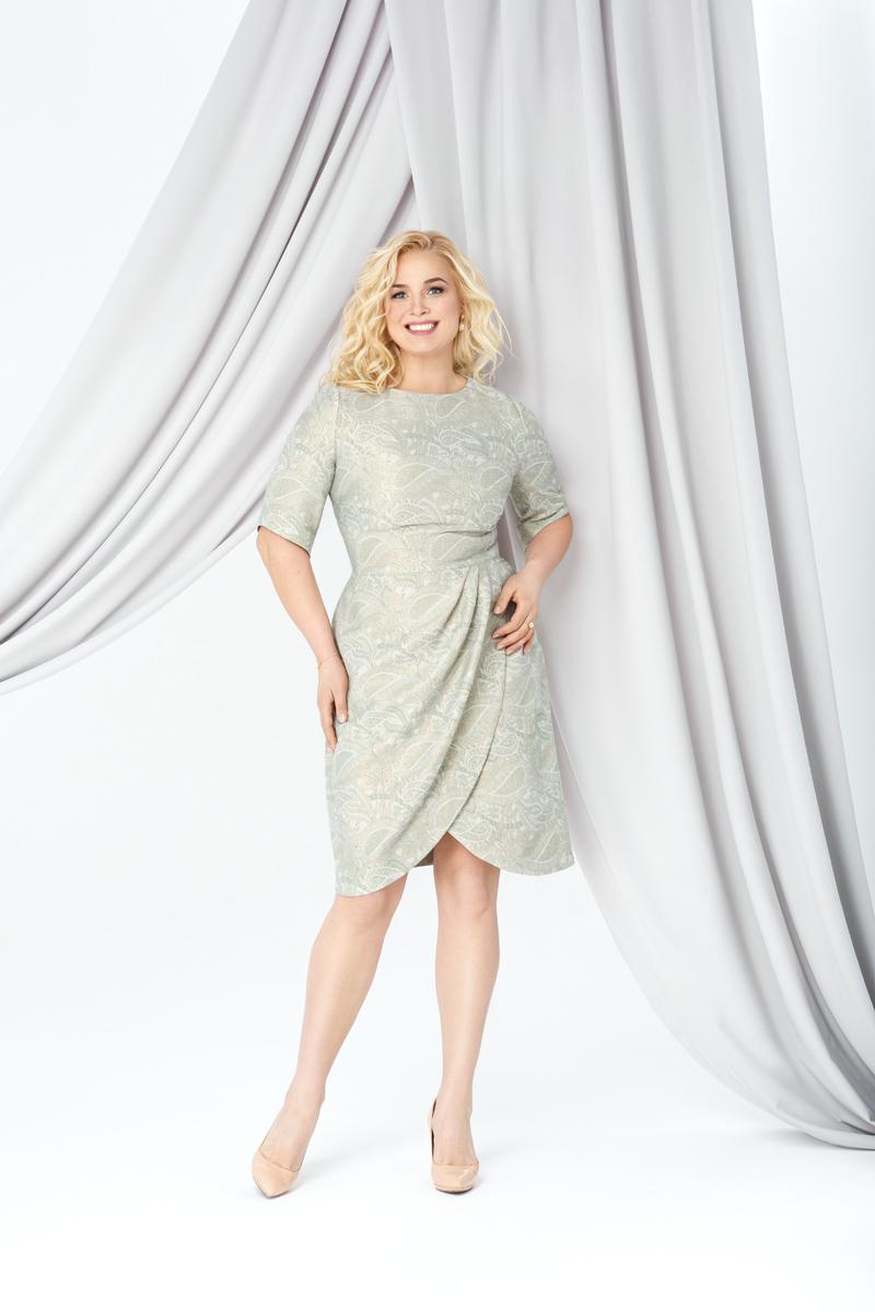 Коктейльное короткое вечернее платье 280