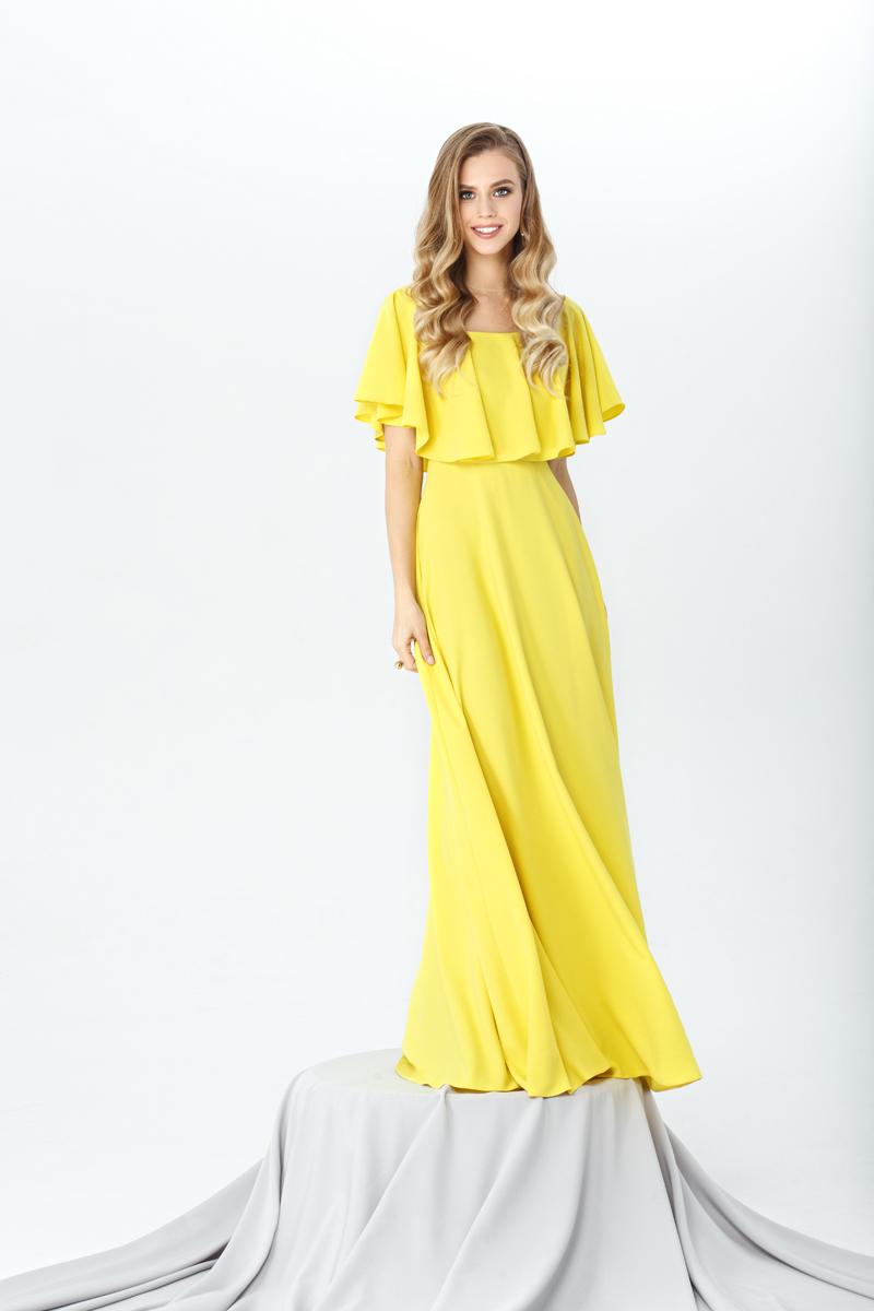 Свадебное платье 0293 (персик)