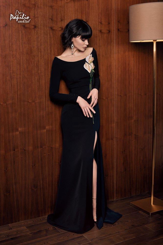 Прямое свадебное платье 0305 papilio (пудровый)