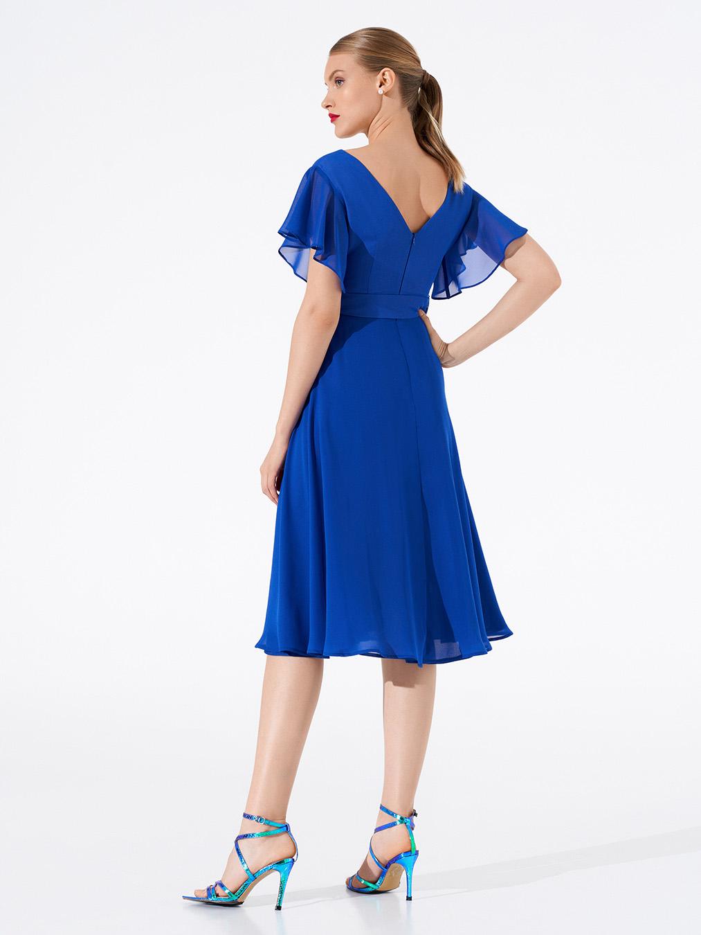 Платье 0625/04 синее