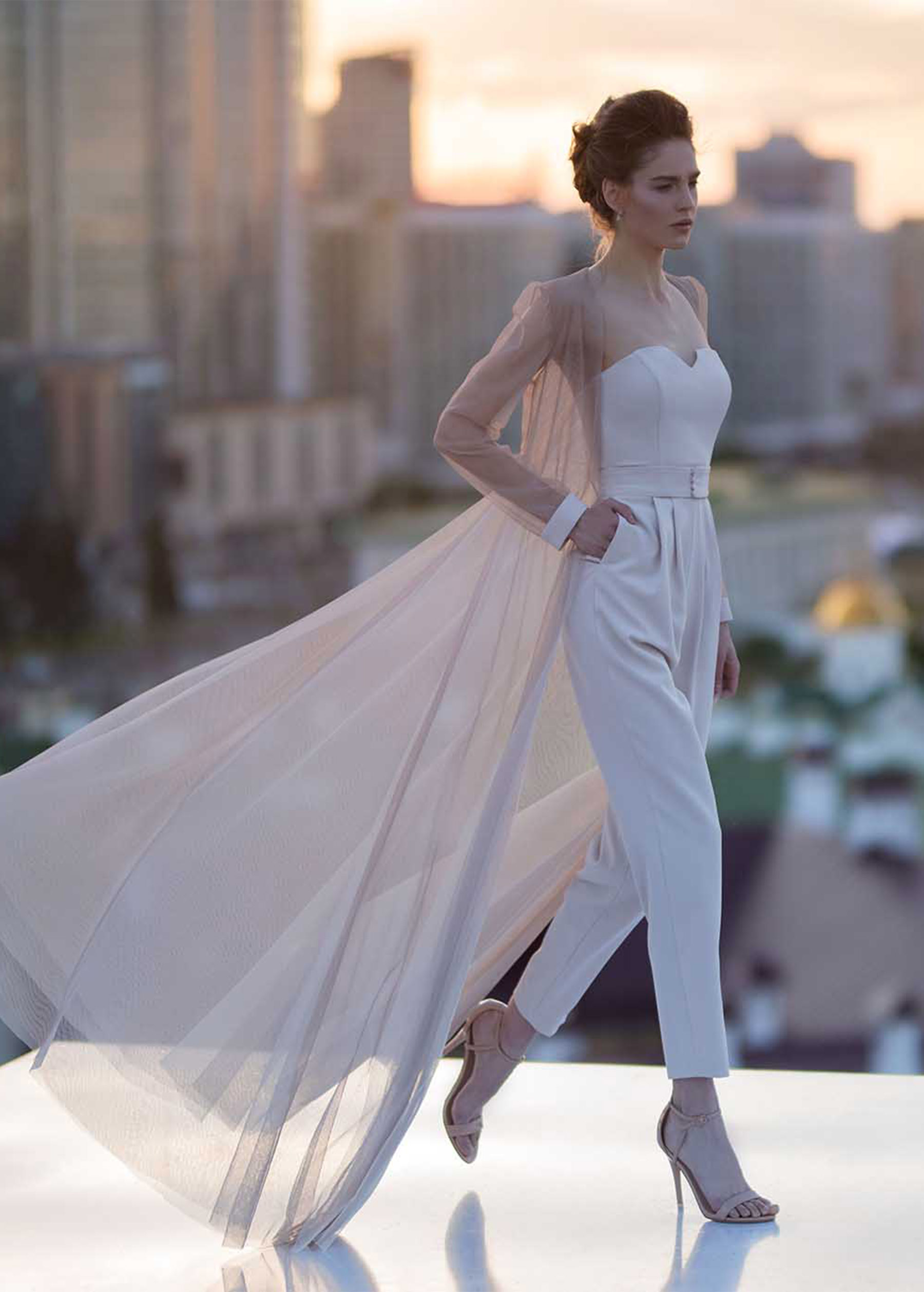 Длинное вечернее платье 4817 костюм