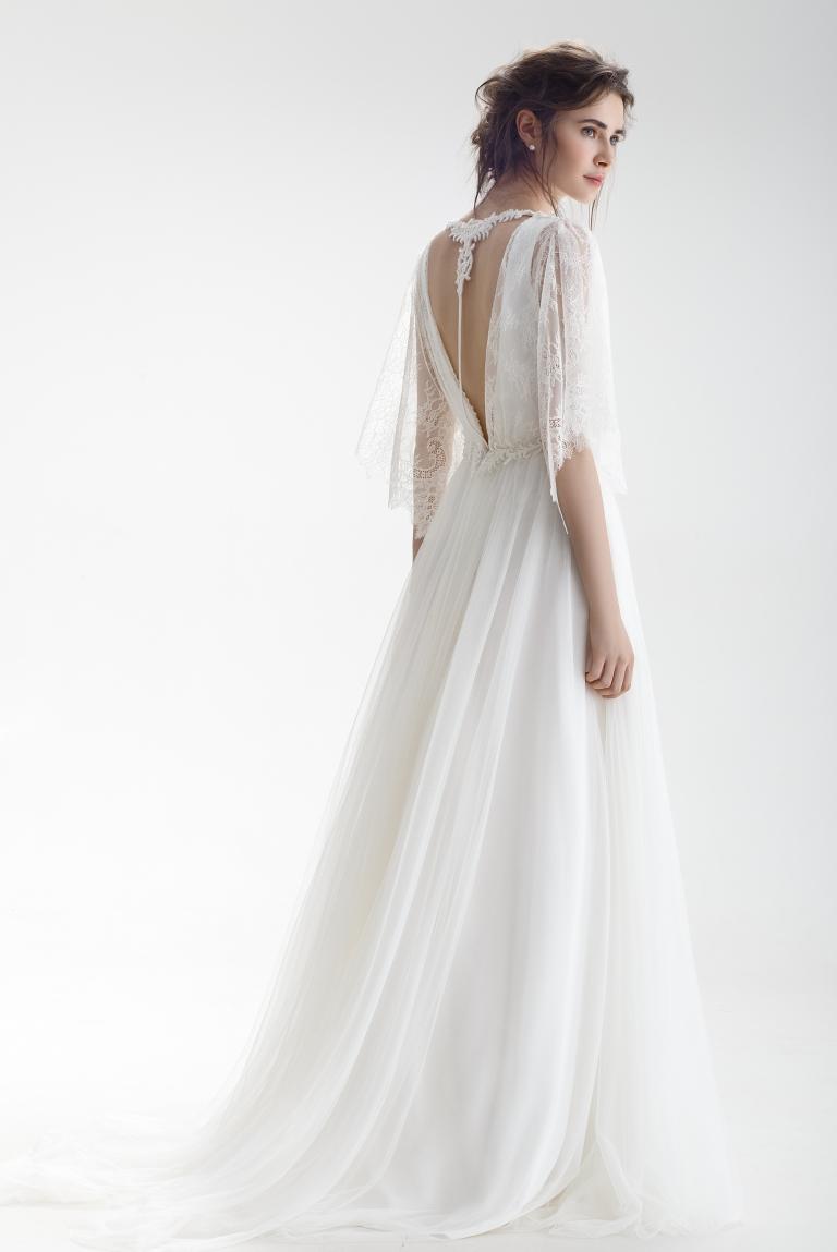 Свадебное платье в стиле бохо Медея