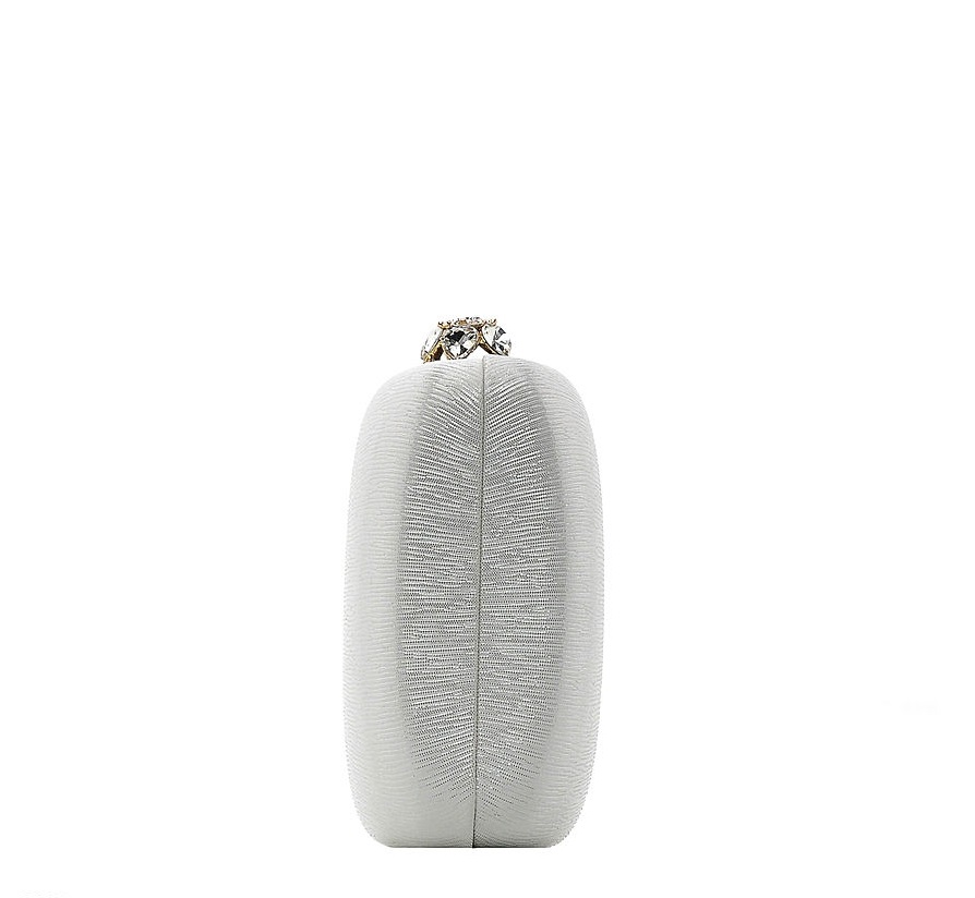 Клатч белый  под вечернее платье