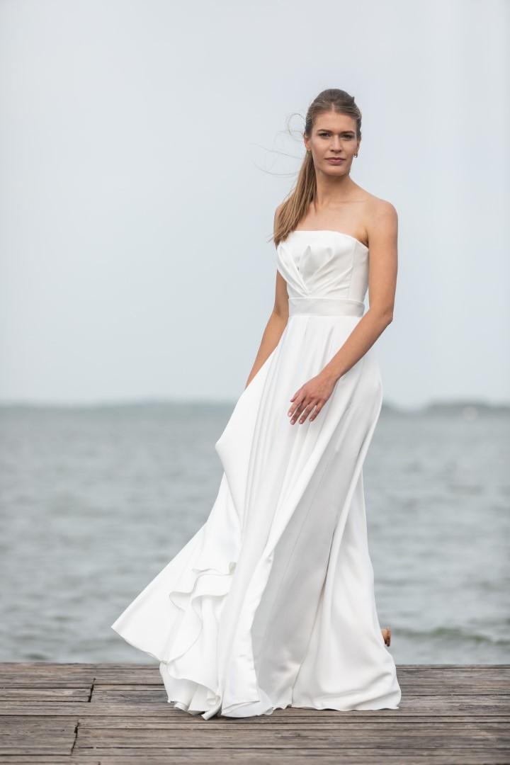 Открытое свадебное платье Брук