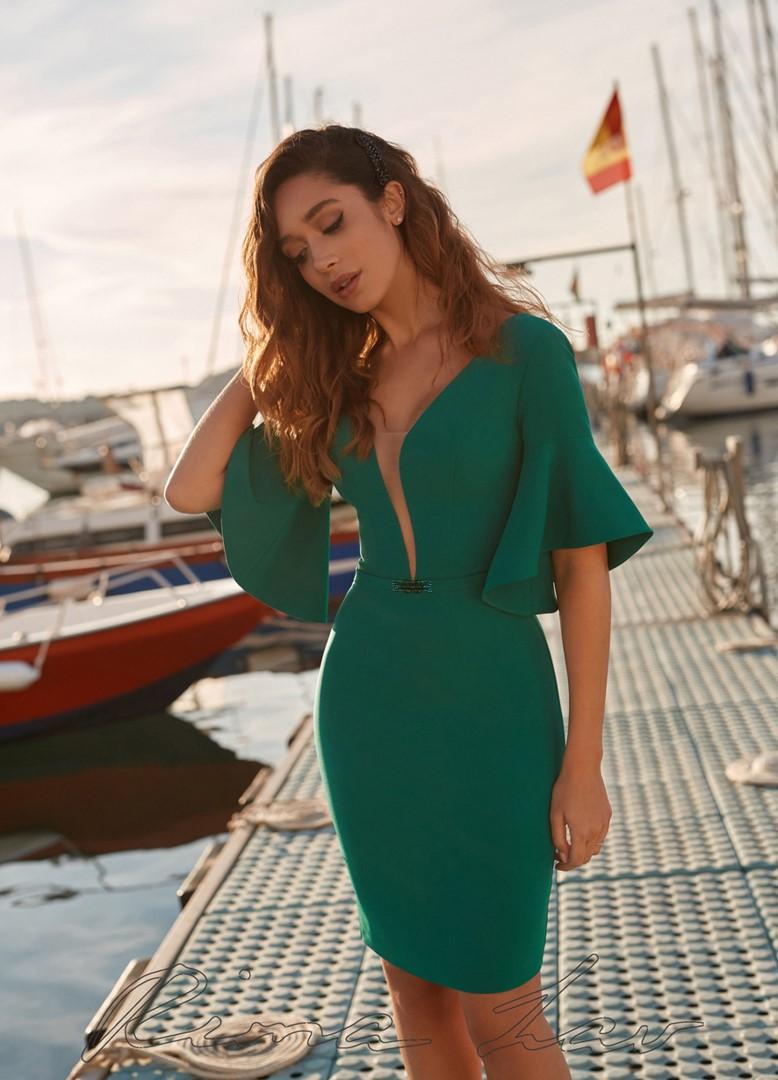 Вечернее платье  Хелена (голубой)