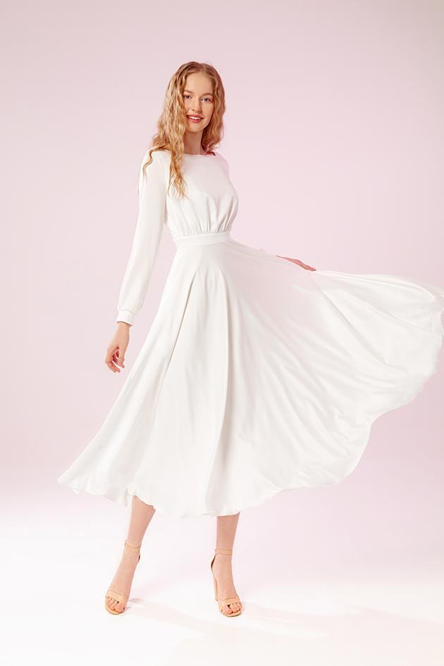 9a632fa0d96 Свадебное платье Пенни-Миди. zoom Увеличить изображение