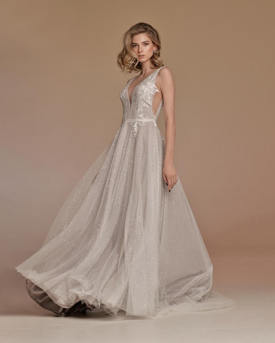 Легкое вечернее платье Астрид цвета Тауп