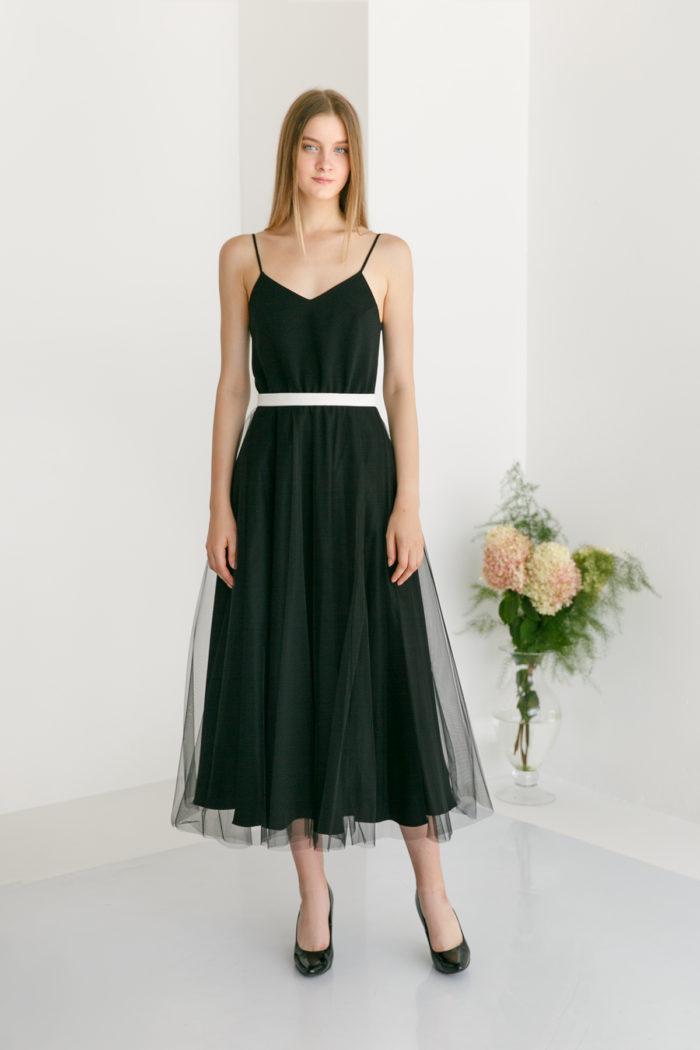 Стильное Вечернее Платье AUNA midi
