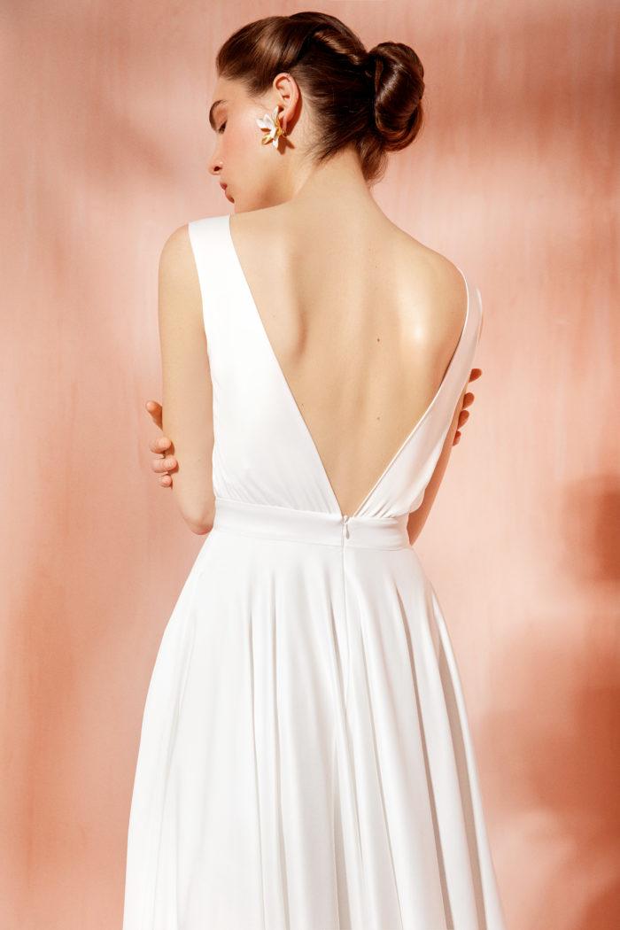 Лаконичное свадебное платье Айрис