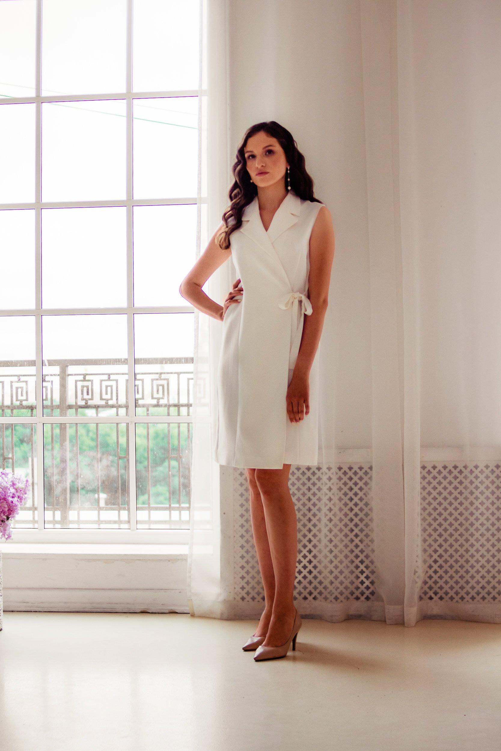 Платье-пиджак Лина