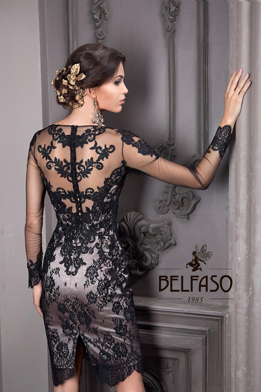 Коктейльное короткое вечернее платье на новый год latifa