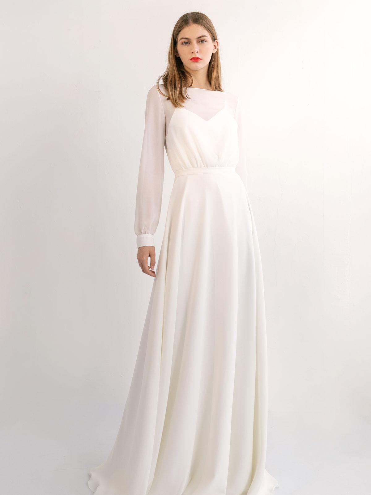 Греческое свадебное платье Кайя
