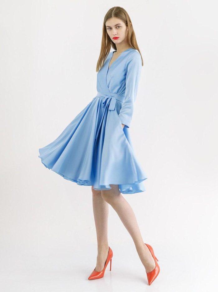 Вечернее платье Стар (в наличии в цвете изумруд)