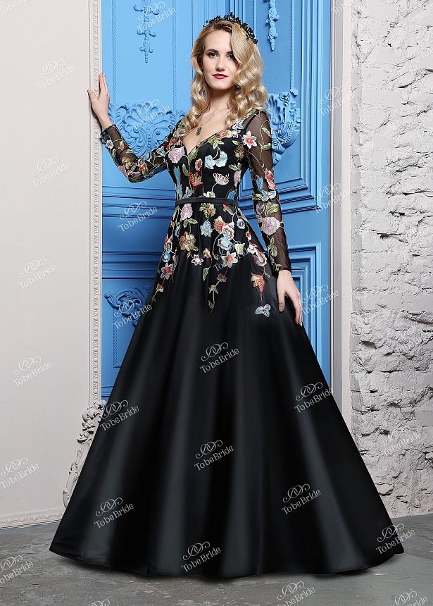 Длинное вечернее платье ch0083b
