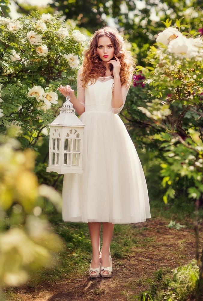 Пышное свадебное платье эми
