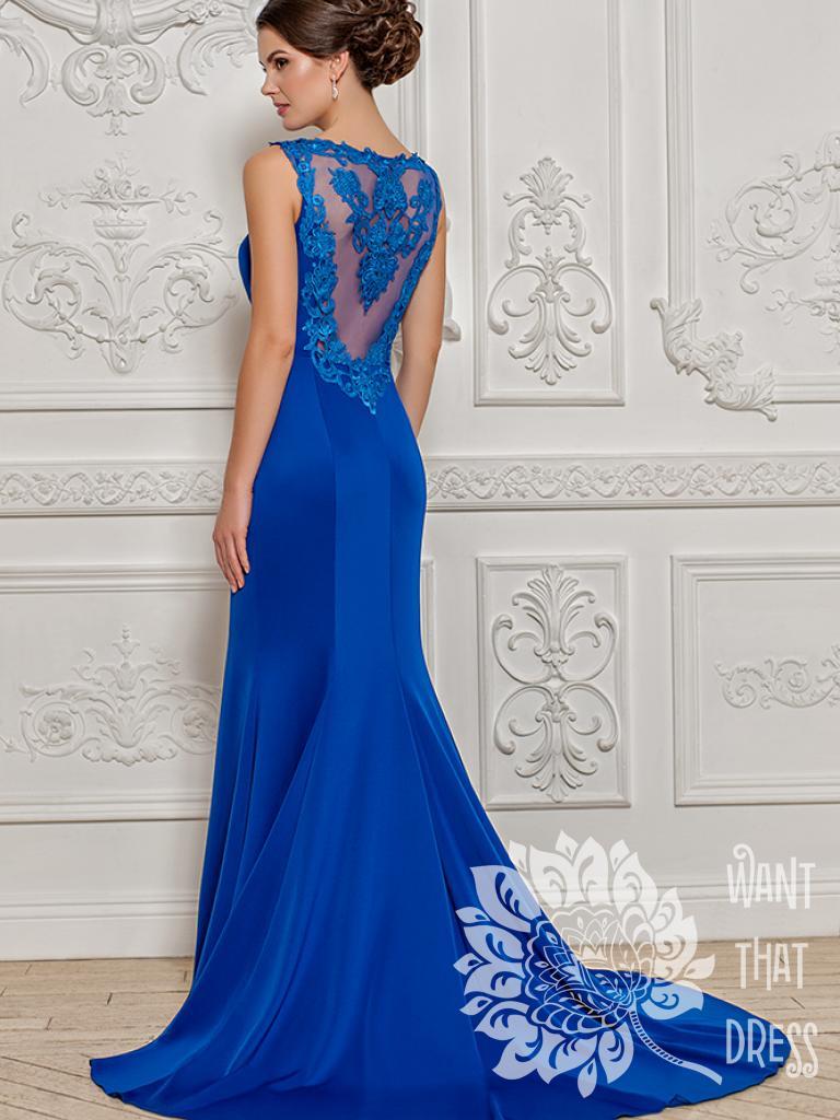 Платье на выпускной -  этна красное