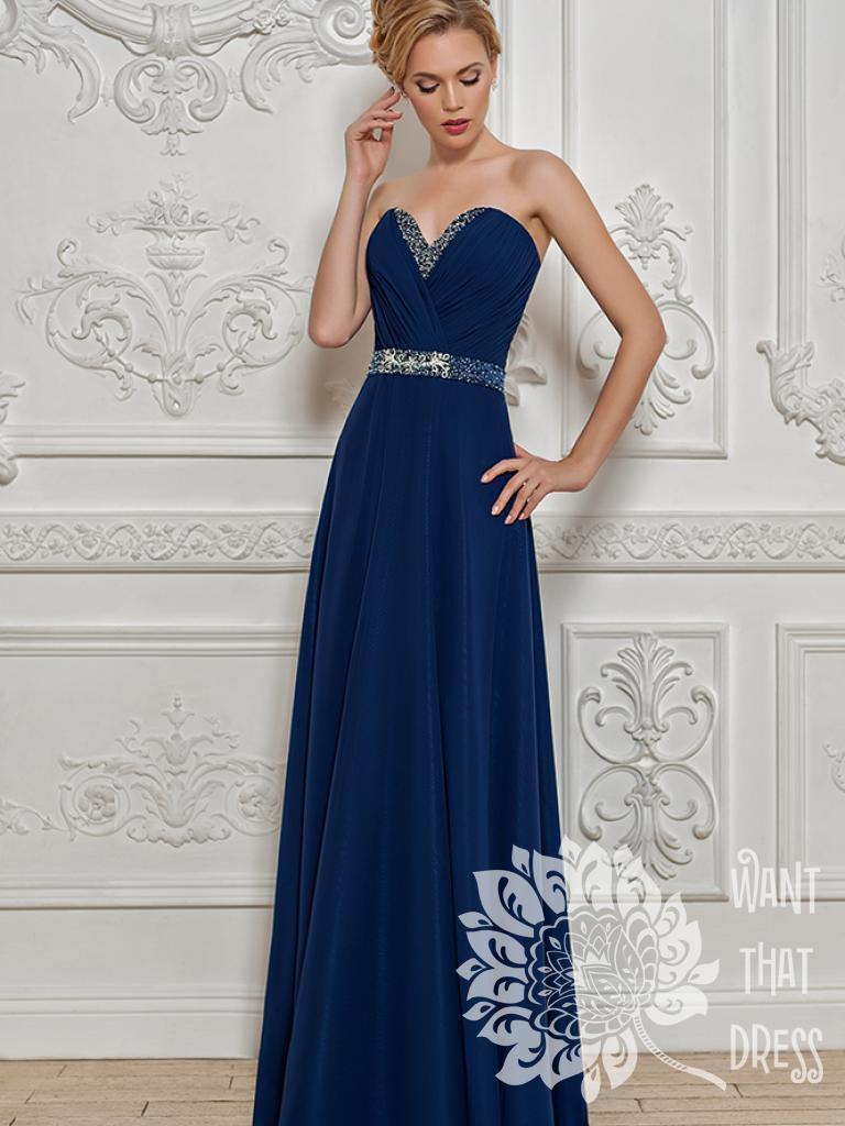 Платье на выпускной -  евангелина