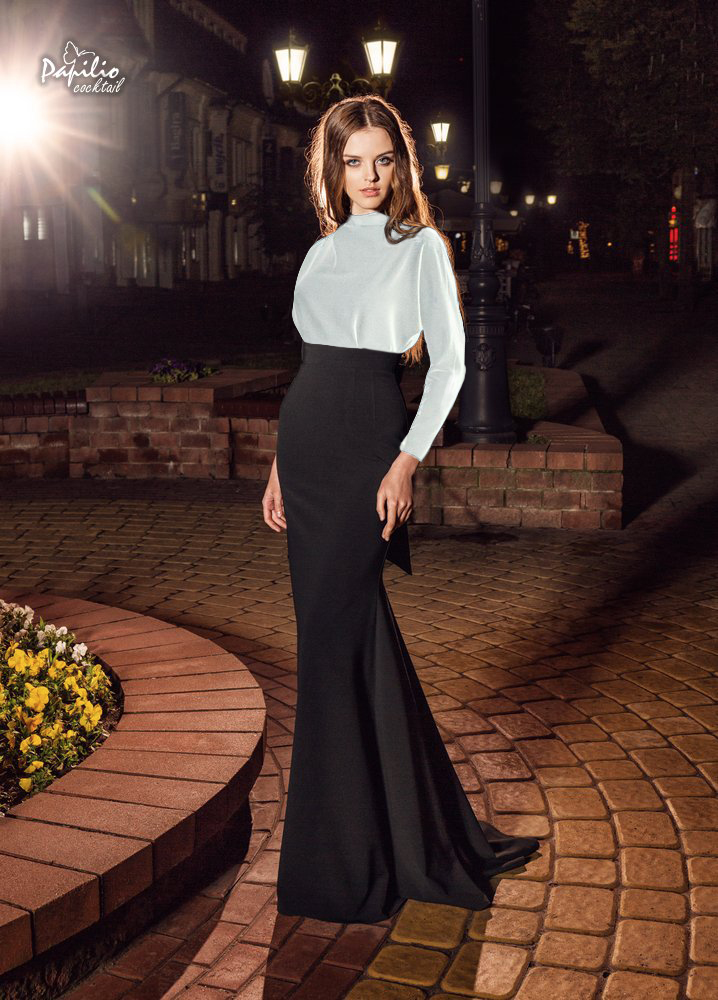 Длинное вечернее платье 0224b