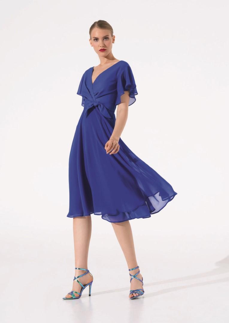 платье 0625/04 синее emse вечерние платья