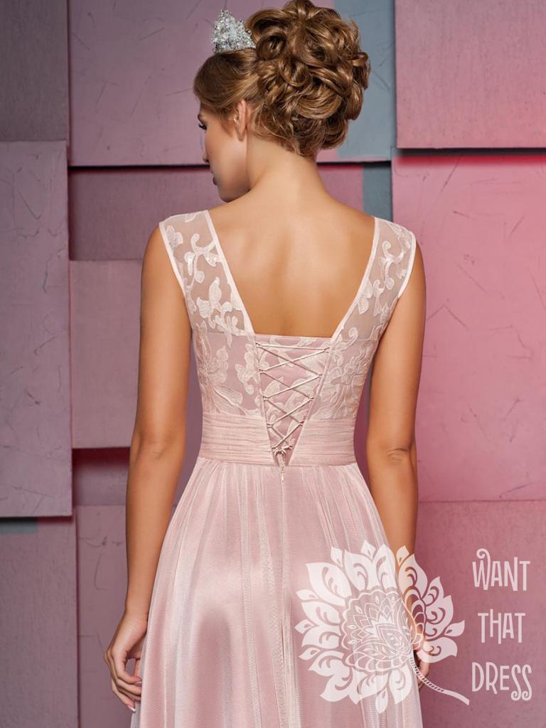 Длинное вечернее платье кортни