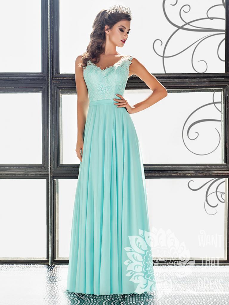 Длинное вечернее платье милагрес