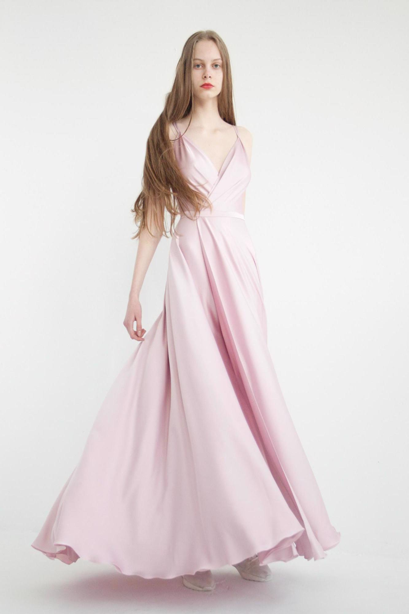 Свадебное платье  molly (пудра) В наличии в Спб