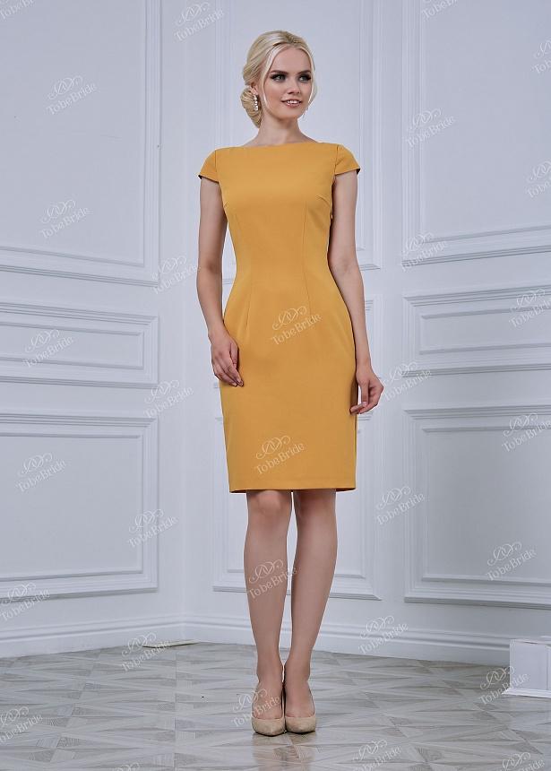 Коктейльное короткое вечернее платье nd088b