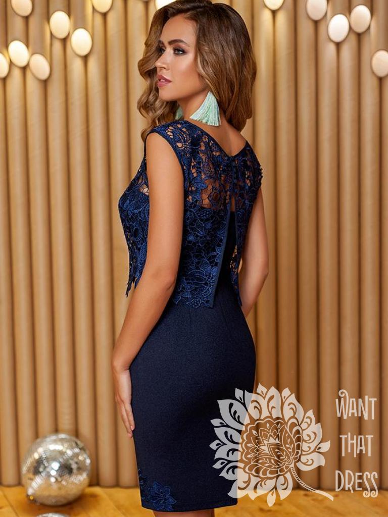 Платье на выпускной -  нега (пудровый)
