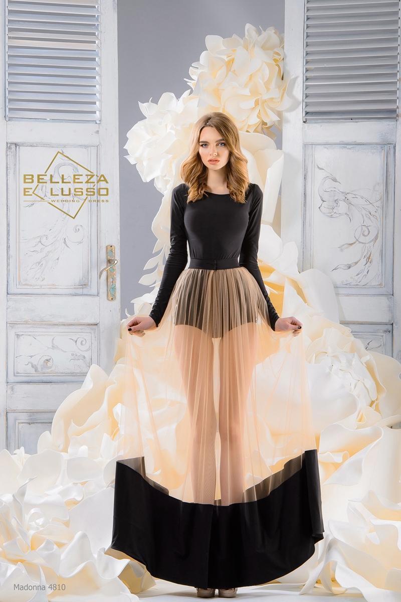 Вечернее платье мадонна