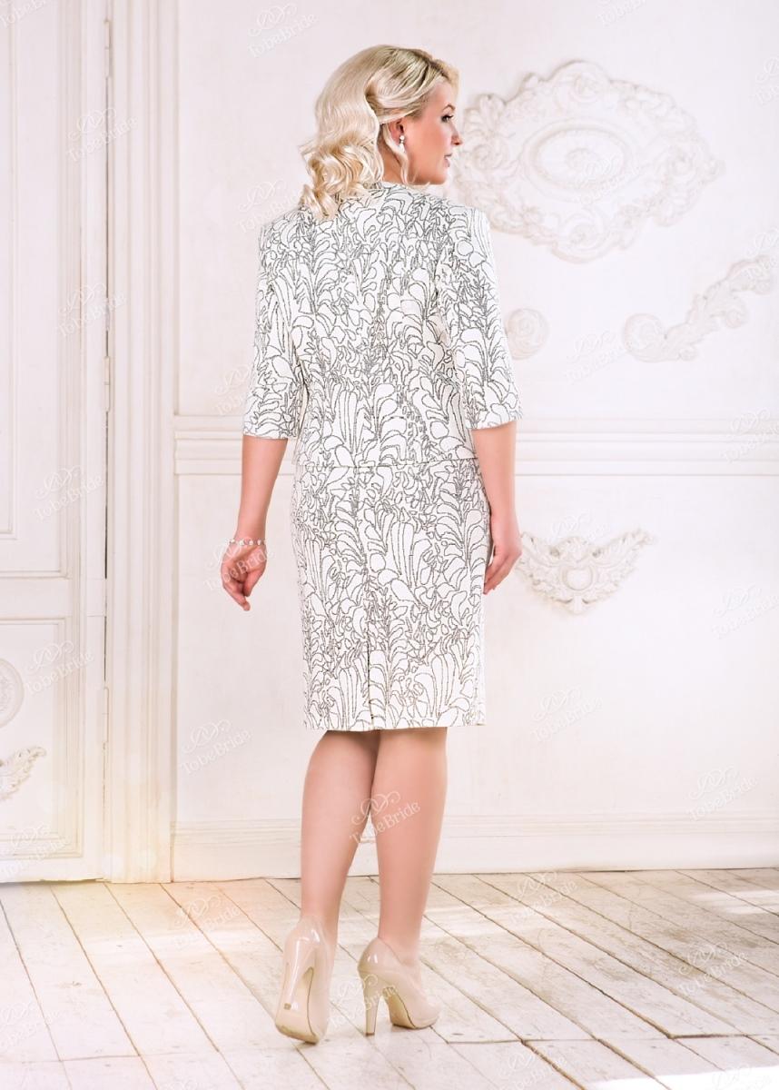 Коктейльное короткое вечернее платье nn006b