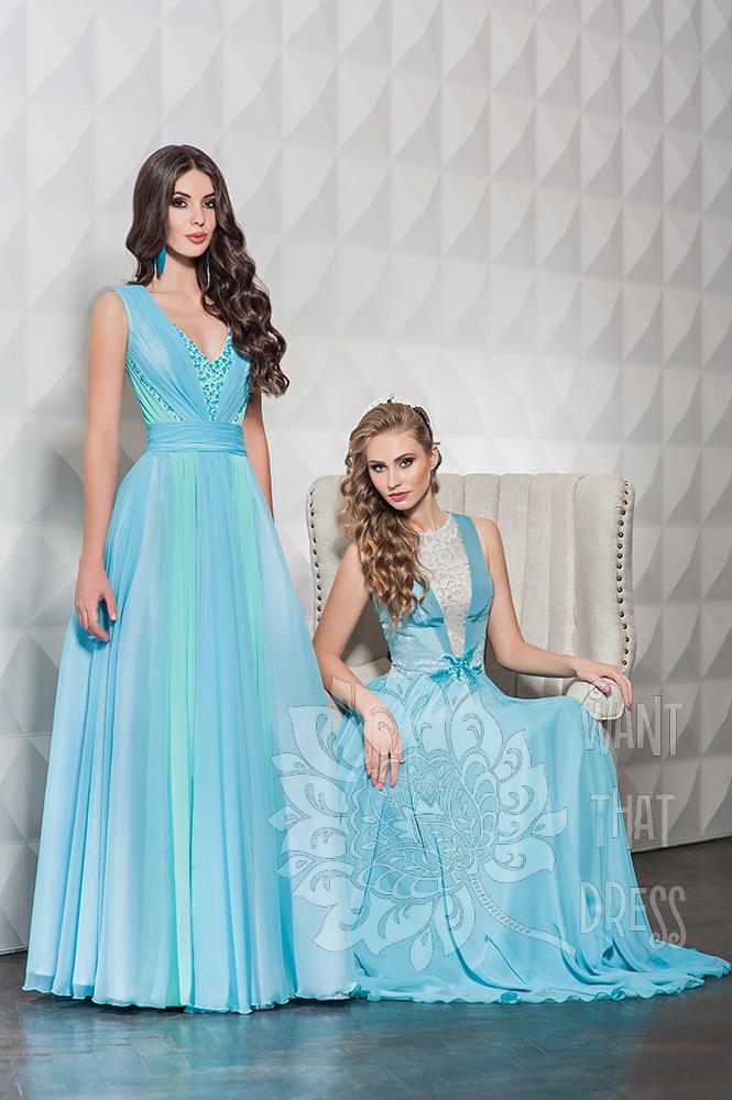 Длинное вечернее платье палома