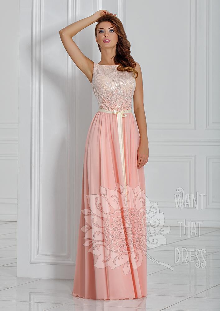 Вечернее платье синтия