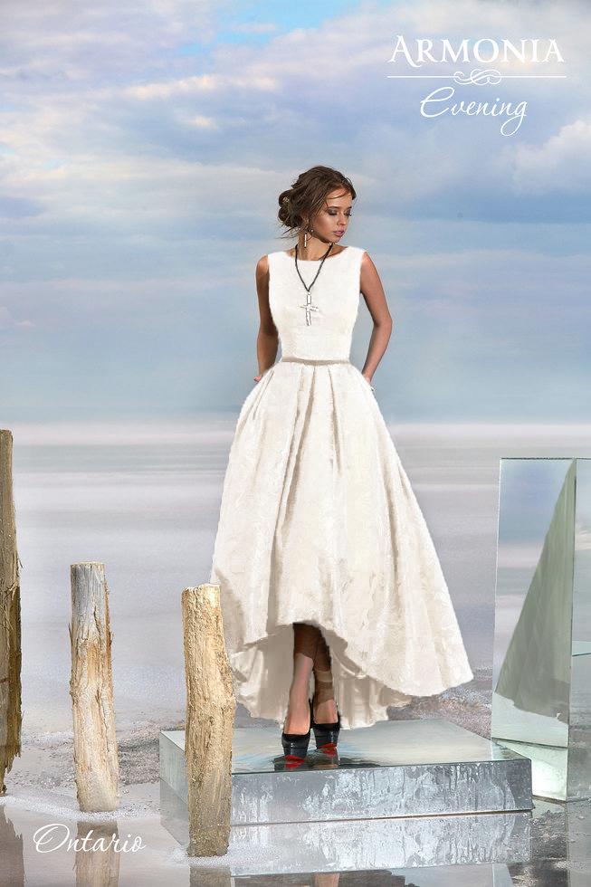 Свадебное платье  ontario (кремовый) В наличии в Спб