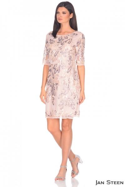 Коктейльное платье выше колена F10698-3