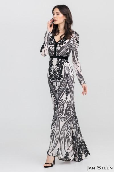 Вечернее кружевное платье E797-188-V