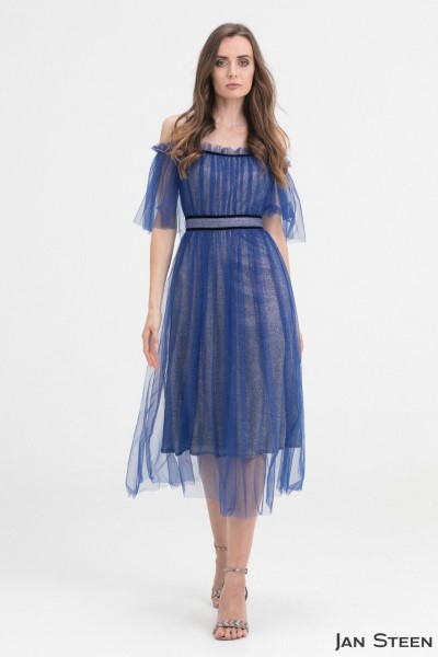 Вечернее Нарядное Платье G91-Sapfir