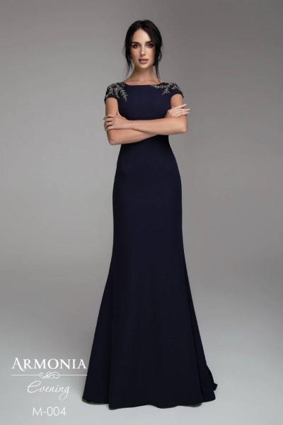 Коктельное вечернее платье с маленьким рукавом