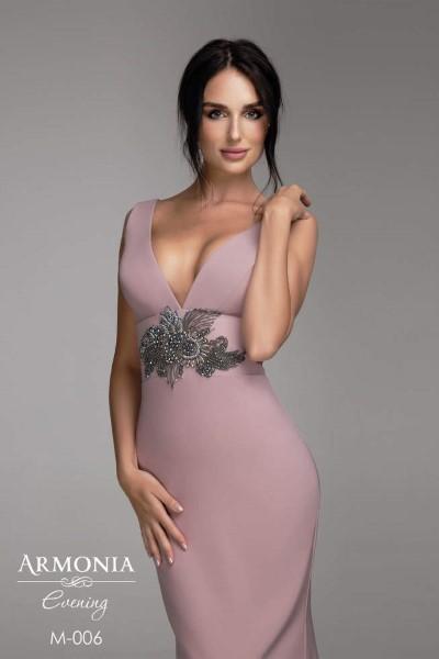 Коктейльное короткое вечернее платье minimal 006 темно-синий (short)