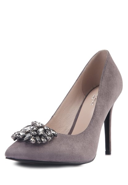 Туфли Piere Cardin дымчатого цвета
