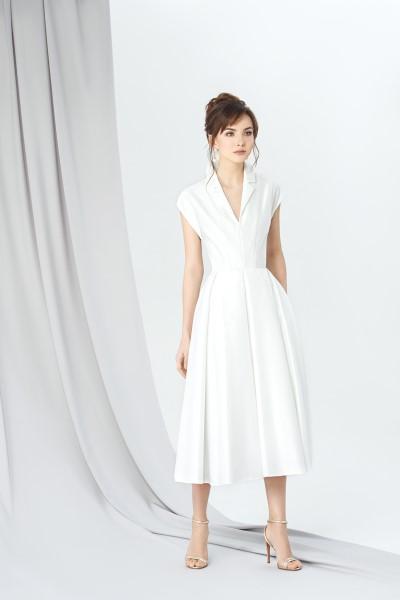 Коктейльное короткое вечернее платье 254