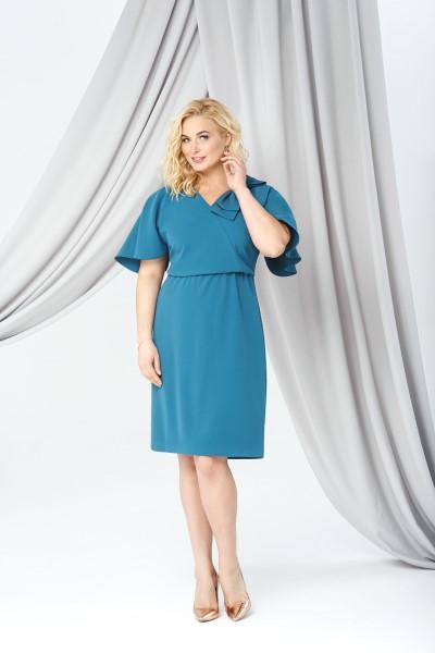 Коктейльное короткое вечернее платье 0268/01  emse