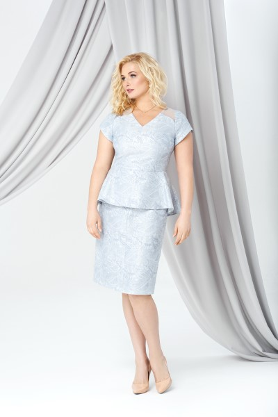 Коктейльное короткое вечернее платье 288