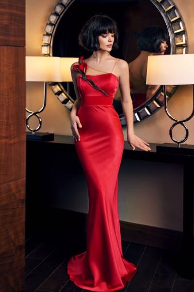 Платье на выпускной -  0304 red papilio
