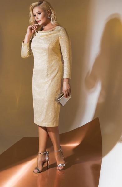 Коктейльное короткое вечернее платье emse 0306
