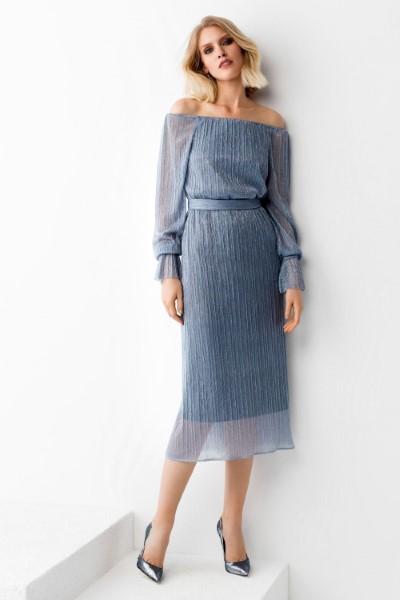 Коктейльное короткое вечернее платье 0362/04