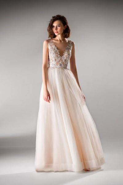 Свадебное платье молочного цвета Papilio 0425